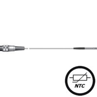 Termorresistencia NTC sonda cable de respuesta rápida para aire, venta en gesa