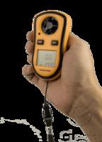 anemómetro portatil para medir la velocidad del viento