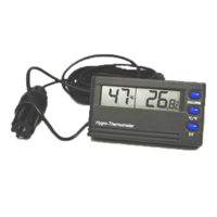 Hygrometer with max/min & alarm functions