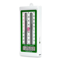 Digital thermometer max/min function