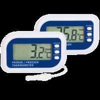 Termómetro digital para cámaras frigoríficas máxima y mínima con sonda exterior