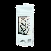 termómetro digital de pared con pantalla LCD grandey función máxima y mínima