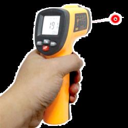 Termómetro de infrarrojos digital hasta 550ºC