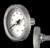 Thermomètres bimétalliques pour portes de fours avec tige en Laiton D43